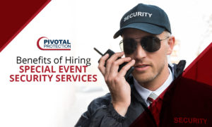Special Event Security Benefits
